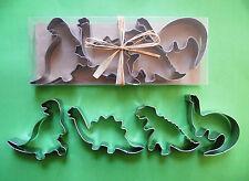 Dinosaur Wild Animal Dino Baking Fondant Biscuit Cookie Cutter Set