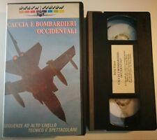 VHS - AEREI - CACCIA E BOMBARDIERI OCCIDENTALI di A.A.V.V. [DELTA VISION]