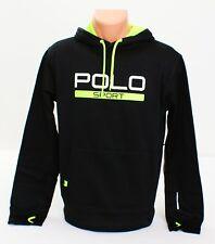 Polo Sport Ralph Lauren Black Hooded Sweatshirt Hoodie Men's Small S NEW