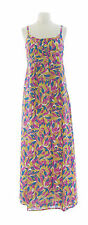 BODEN Women's Multi Empire Waist Maxi Dress w/ Adjustable Straps US Size 12L NEW