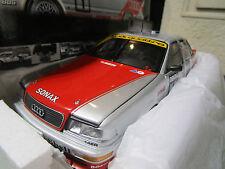 AUDI V8 QUATTRO DTM 1992 #1 TEAM AZR BIELA 1/18 MINICHAMPS 100921001 voiture min