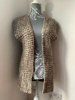 River Island Sleeveless Cardigan Size 10 Wool Mix Knitwear