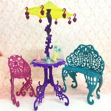 Elegant Amusement Bar CouchChairs Tisch Desserts Schirm KidToy Hausmobiliar WH
