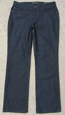 Nine West Size 10 Boot Cut Low Rise Dark Wash Womens Jeans