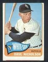 1965 Topps #183 Dave Nicholson VG/VGEX White Sox 68009