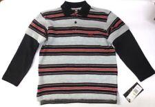 Camicia Polo neri per bambini dai 2 ai 16 anni