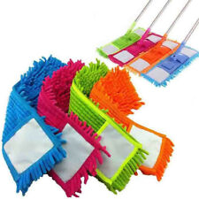 Durable Replacement Mop Head Microfiber Pad Household Flat Floor Dust Cleaning