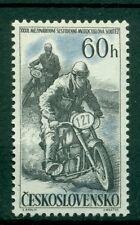 MOTOS DE COURSE - MOTORCYCLE RACES CZECHOSLOVAKIA 1957