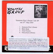 (FG317) Youth Group, Someone Else's Dream - 2005 DJ CD