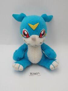 "Veemon B2801 Digimon Adventure Bandai 2000 JUNK Plush 4"" Stuffed Toy Doll Japan"