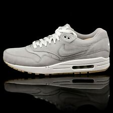 Nike Air Max 1 Leather 705282-005 SIZE 9.5 USA / 43 EU / 8.5 UK Grey Gum NEW DS