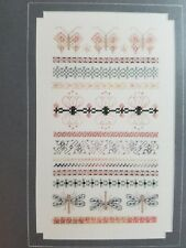 Just Nan Cross Stitch Chart: Sampler - Lily Pond