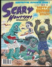 SCARY MONSTERS MAGAZINE # 11 1994 HORROR LAST MAN ON EARTH PARTY BEACH