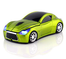 2.4 ghz Wireless 3d 1600dpi Infiniti coche forma Cool Optical Usb Gaming Mouse Reino Unido