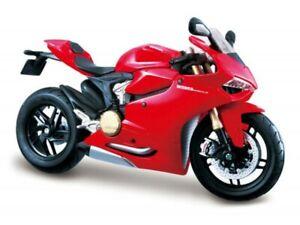 Ducati 1199 Panigale 2012 diecast model motor bike red 1:12 MAISTO 11108R