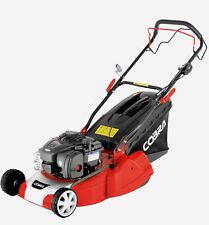 "COBRA 16"" Rear roller driven Petrol Lawnmower - 2 yr warranty -free oil RM40SPB"