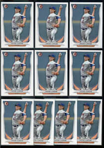 LOT OF (10) JACOB DEGROM 2014 BOWMAN PROSPECTS #BP73 PAPER ROOKIE RC BASE FC8020