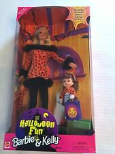 1998 Halloween Fun Barbie & Kelly Trick Or Treat Target Gift Set New 23460
