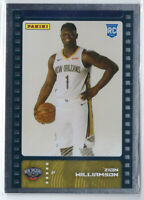 ZION WILLIAMSON 2019-20 PANINI STICKER SILVER FOIL ROOKIE PARALLEL RC #81