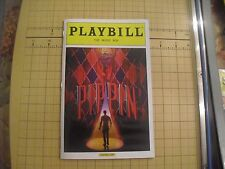 PIPPIN COLOR COVER   PLAYBILL  BROADWAY