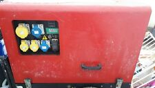 PRAMAC YANMAR DIESEL P6000S MODEL 6KVA DUAL VOLTAGE GENERATOR 110v/240v OPTION