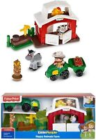 Fisher Price Little People Happy Animals Farm Age 1-5 Years Stable Animals Etc