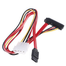 7+15Pin SATA interface to ESATA port large 4pin power interface conversion cabJR
