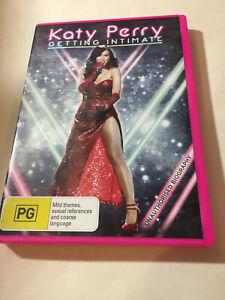 KATY PERRY 'Getting Intimate' 2014 Region 4 DVD