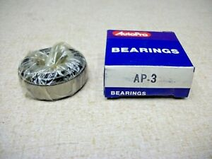 AutoPro Tapered Roller Bearing LM12610 / LM12649 Set 3 AP-3 Vintage Auto Bearing