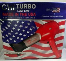 CHI Turbo Low EMF - Hair Dryer With Diffuser