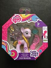 NEW HASBRO MY LITTLE PONY CUTIE MARK MAGIC LILY BLOSSOM GLITTER WATER WINGS RARE