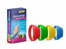 KOMASTOP - Mosquito repellent Silicone wristband with oil Citronella