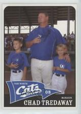 2008 Fort Worth Cats Team Issue Chad Tredaway