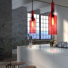 Ensemble de deux bouteilles suspendu lumière plafond ess chambre COMPTOIRS Verre