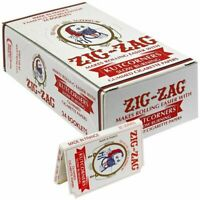 Zig-Zag White KutCorners - 5 PACKS - Zig Zag Rolling Papers Tobacco Cut Corner