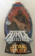 Star Wars Chewbacca Figure Force Battlers NEW  With Water Firing Blaster Cannon