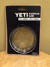 NEW Yeti Rambler Lid 10oz Lowball / 20oz Tumbler FREE SHIPPING!