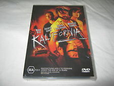 Kalifornia - Brad Pitt - Brand New & Sealed - R4 - DVD