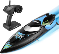 Remote Control Rc Boat for Pools and Lakes, Kuman 25km/h High Speed Racing Rc Bo
