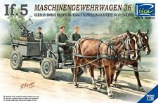 Riich Models 1/35 IF.5 MG 36 Horse Drawn MG Wagon w/Zwillingslafette 36