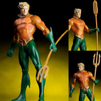 "7""  Aquaman Action Figure Justice League Hero Arthur Curry Toy Collection PVC"