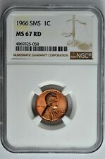 1966 SMS Lincoln 1C NGC MS 67 RD