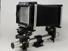 Sinar F 4x5 Film Monorail Camera W/Nikon Nikkor W 150mm F5.6 COPAL 0