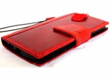 genuine full leather Case for apple iphone 6 book wallet handmade cover magnet s