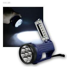 Mini LED projecteur manuel, 7+5 LEDs, Phare Lampe de poche Lampe de poche Lampes