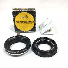 Olympus Pen F Reverse Ring Lens Reverser Macro Adapter Close Up Photography