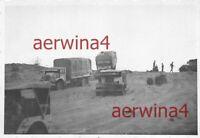 Vormarsch Afrikakorps erbeutete engl. LKW Chevrolet C60S El.- Alamein Ägypten
