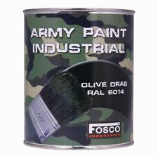 Pot de Peinture Militaire 1 Litre Olive Drab