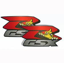 2x SUZUKI GSXR Autocollant Sticker #0033