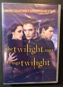 The Twilight Saga 5-Movie Collection (DVD) NEW